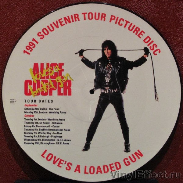 Love's a Loaded Gun Alice Cooper